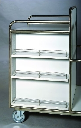 Zubehör für Edelstahlprodukte Seitenfächer Seitenfächer mit Edelstahlrandgittern